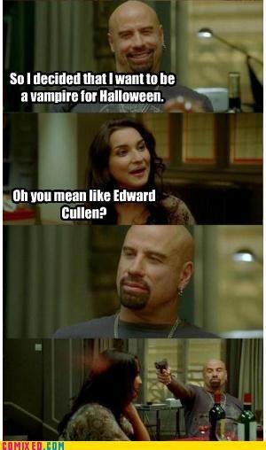edward cullen,halloween,john travolta,meme,no,taking of pelham 123,the internets,vampire