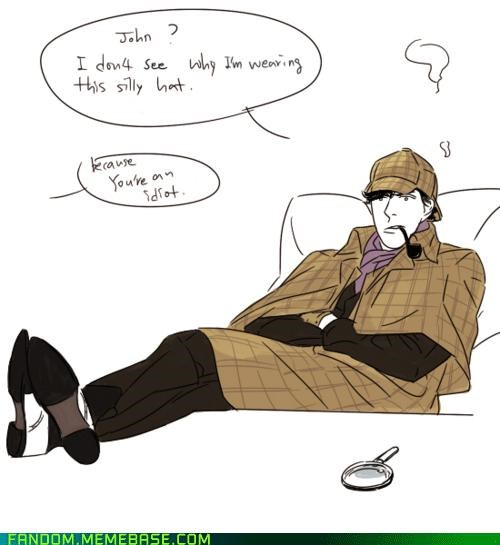 Sherlock Doesn't Get His Own Halloween Costume