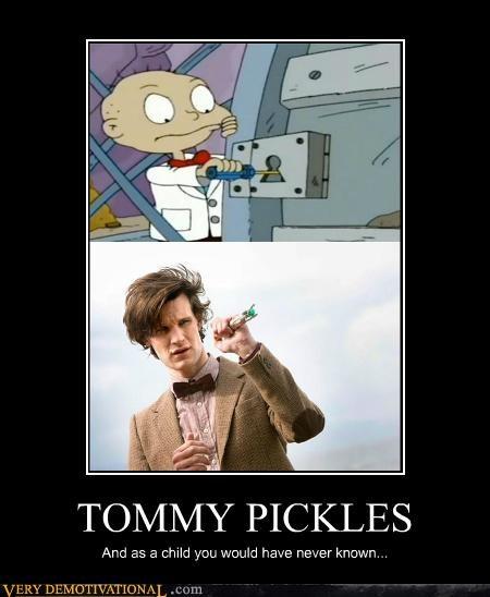 doctor who,hilarious,rugrats,screwdriver,tommy pickles