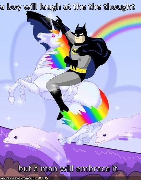 And He Is batMAN