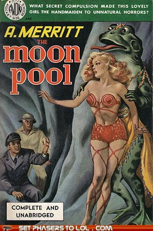 WTF Sci-fi Book Covers: The Moon Pool