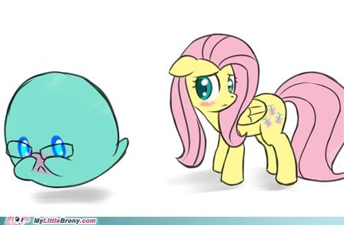 boo,crossover,fluttershy,mario,overload,shyness