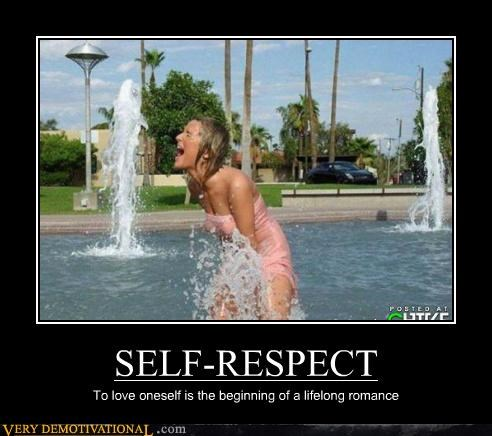fountain,hilarious,self love,self respect