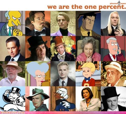 The Fictional One Percent