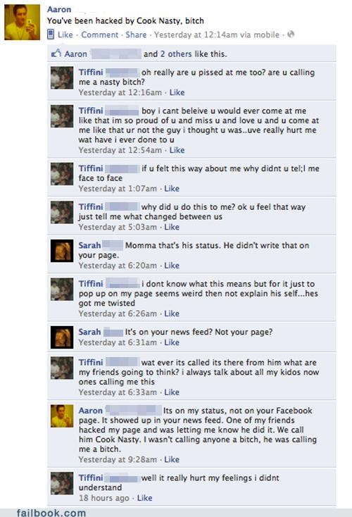Basic Understanding of Facebook FAIL
