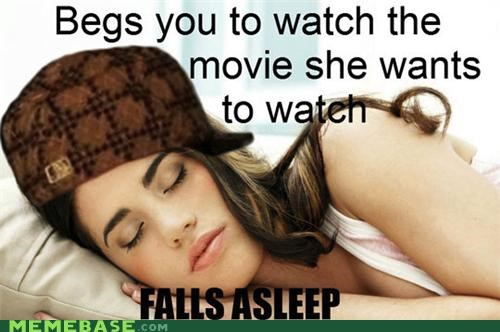 Scumbag Girlfriend