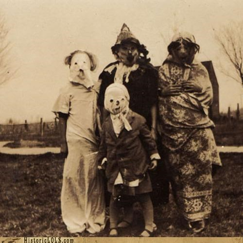 Creepy Old Time Halloween Costumes