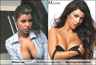 Briana Lee Totally Looks Like Kourtney Kardashian