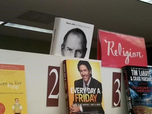Steve Jobs is Watching You of the Day