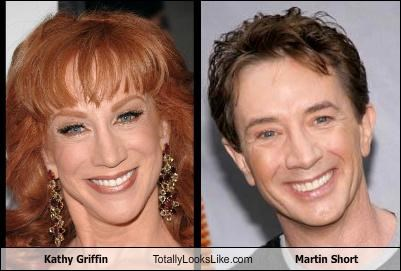 Kathy Griffin Totally Looks Like Martin Short