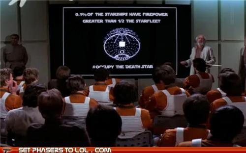 Death Star,firepower,occupy,star wars,The 99 Percent