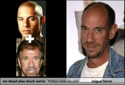 Vin Diesel plus Chuck Norris Totally Looks Like Miguel Ferrer