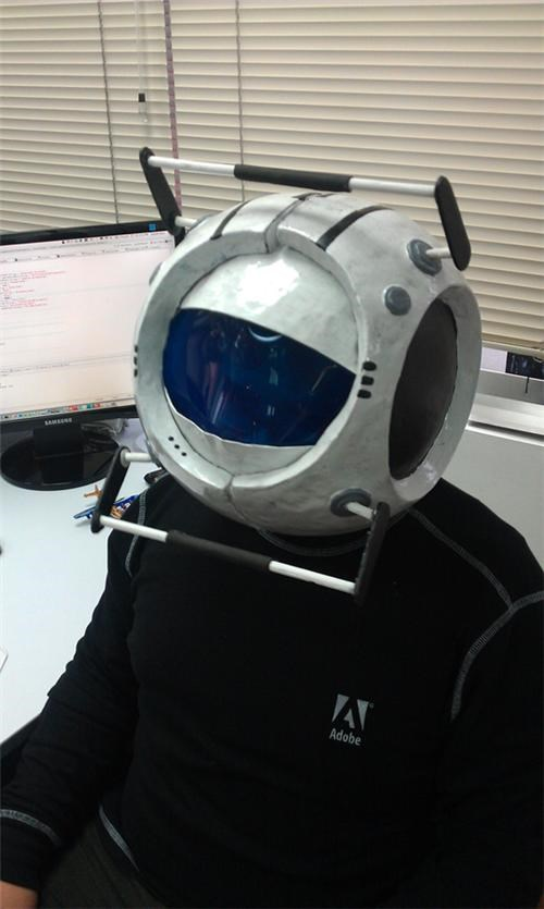 Portal 2 Halloween Costume of the Day