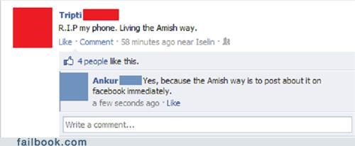 amish,mobile phone,phones,technology,update