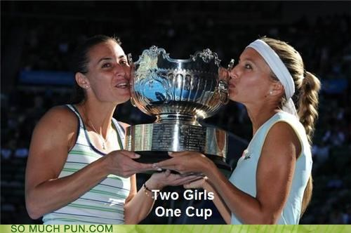 cup,double meaning,girls,literalism,one,two,two girls one cup
