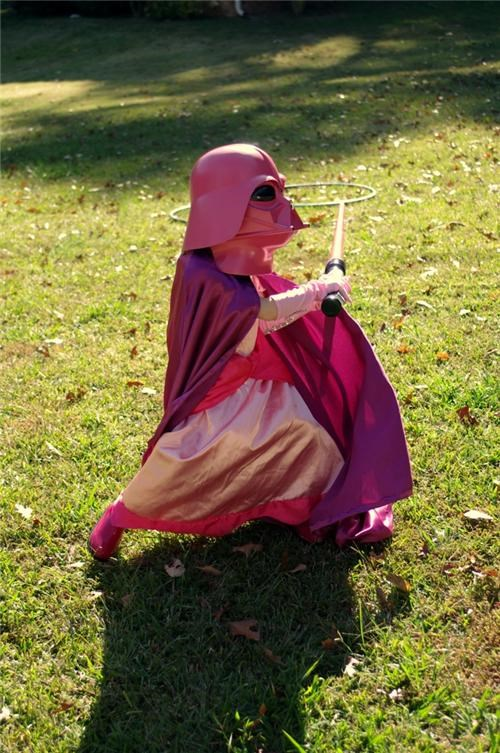 Princess Darth Vader of the Day