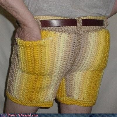 The Return of the Knitted Shorts