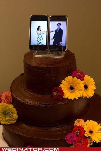 iPhone Cake Toppers (IRL)