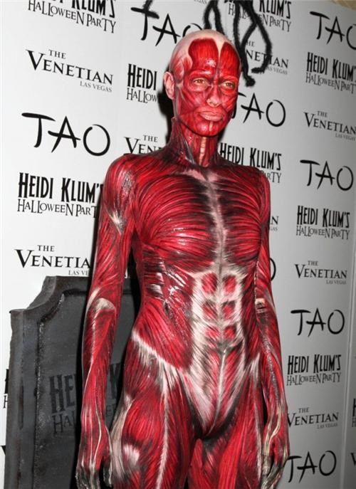 Heidi Klum's Creepy Halloween Costume