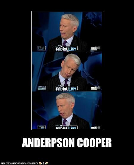 Anderson Cooper,derp,political pictures