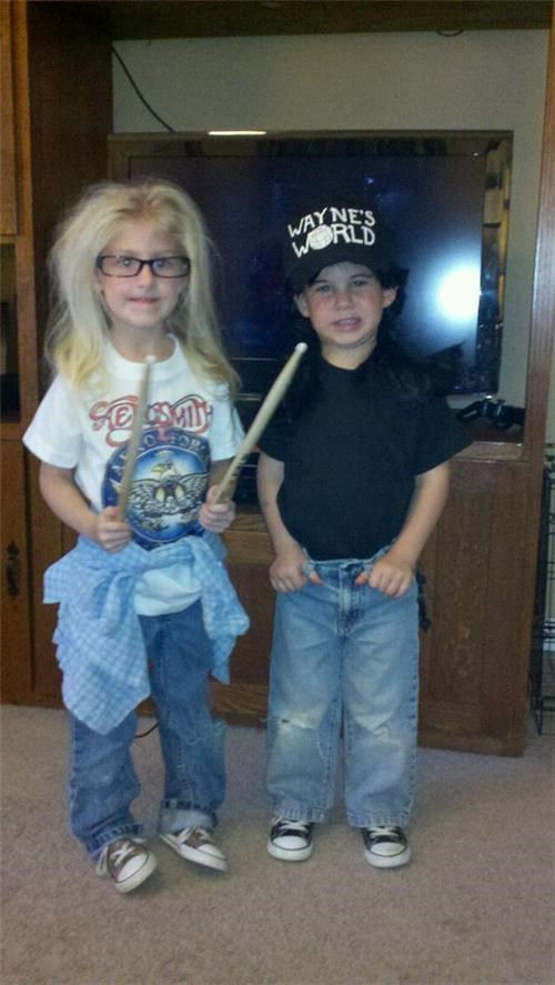 Cosplaying Kids of the Day