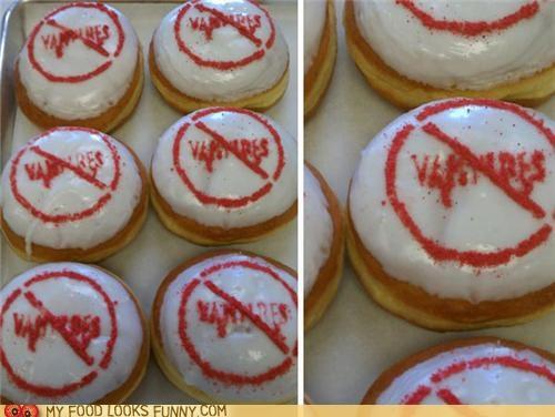 Garlic Filled Anti-Vampire Donuts