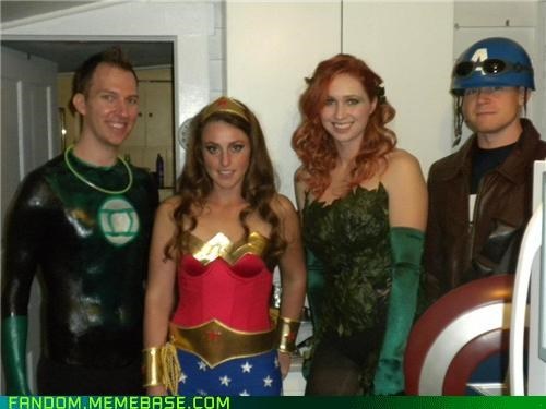 What's Captain America Doing There?