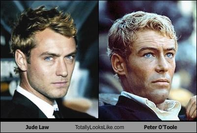 Jude Law Totally Looks Like Peter O'Toole