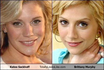 Katee Sackhoff Totally Looks Like Brittany Murphy