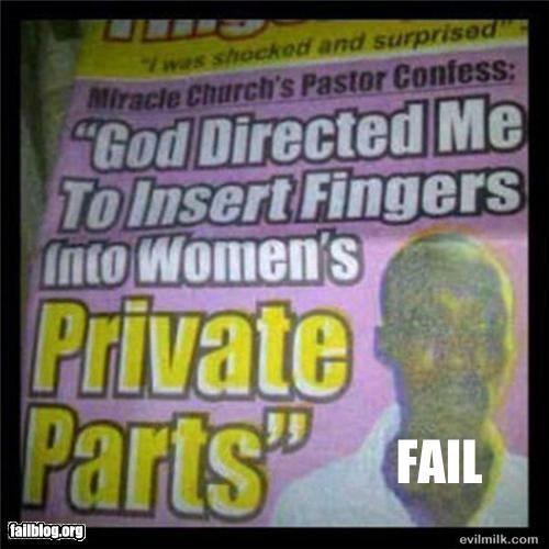 Pastor Fail