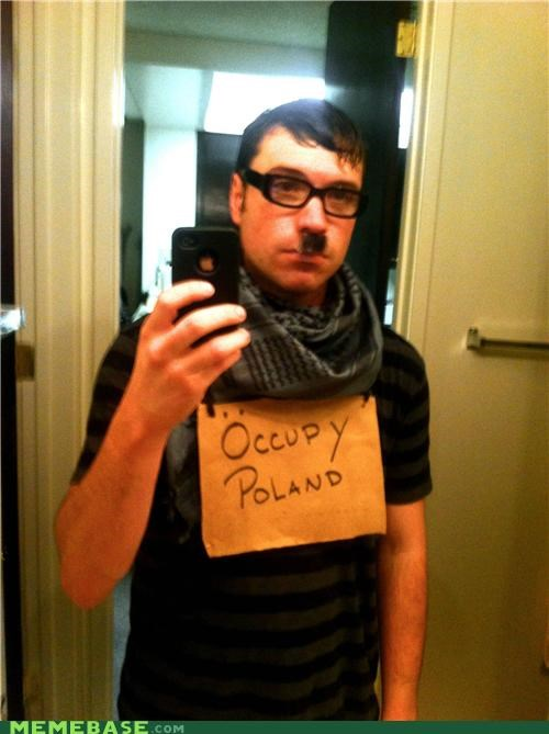 costume,halloween,hipster,hitler,Occupy Wall Street