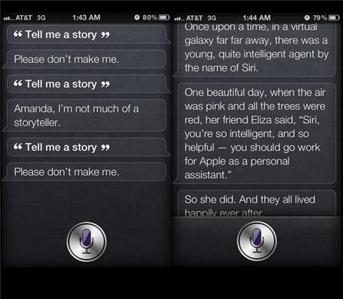 Story Time with Siri of the Day