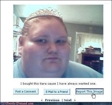Too much tiara