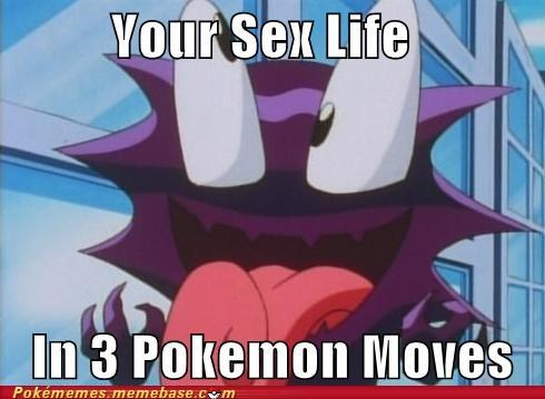 Describe Your Sex Life In Three Pokémon Moves