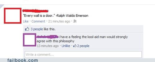 Emerson Loved Kool-Aid
