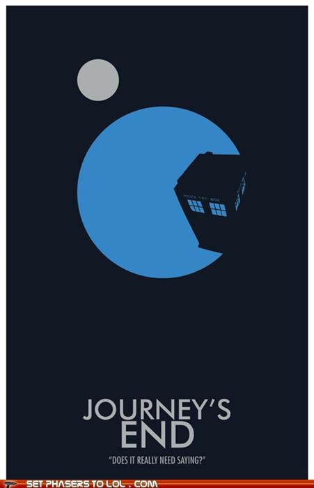 Doctor Who: Journey's End Minimalist Poster