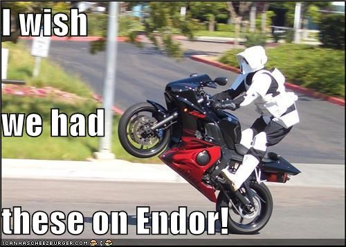 endor,motorcycle,star wars,stormtrooper,wish