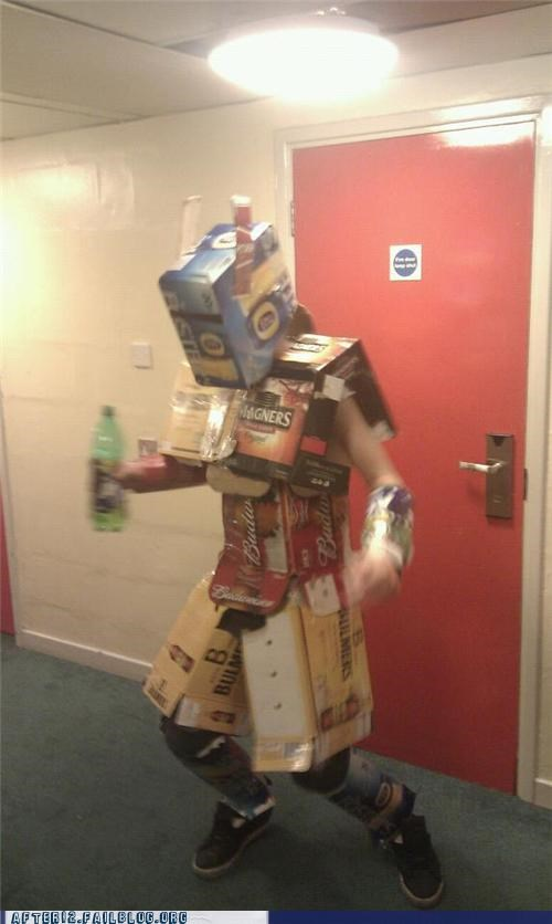 armor,beer-drunk,boxes,fight,protect