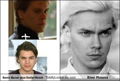 Kevin Bacon plus Emile Hirsch Totally Looks Like River Phoenix