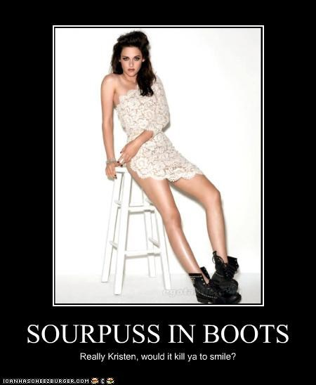 SOURPUSS IN BOOTS