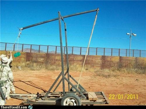 Beat The Border Lines, Try a Catapult