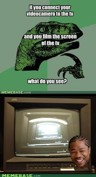 camera,film,philosoraptor,screen,television,yo dawg