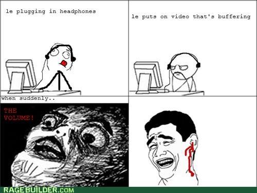 Headphones, Y U Ruin My Hearing?!
