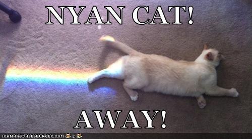 NYAN CAT!  AWAY!