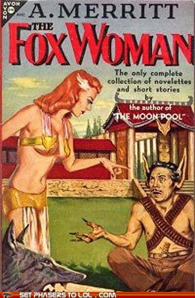 WTF Sci-fi Book Covers: The Fox woman