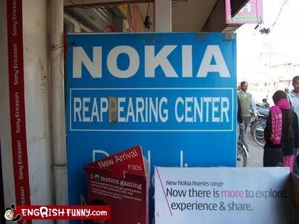 I wondered where my Nokia had gone