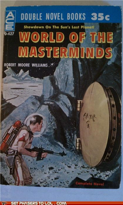 WTF Sci-Fi Book Covers: World of the Masterminds
