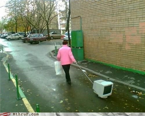 Just Taking the Old CRT for a Walk