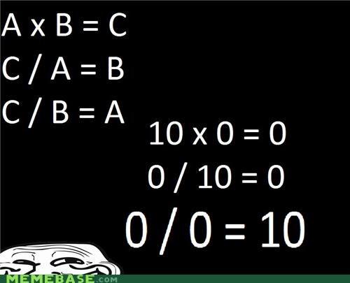 0,division,math,science,troll science,zero