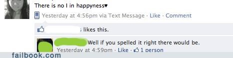 correction,happiness,spelling